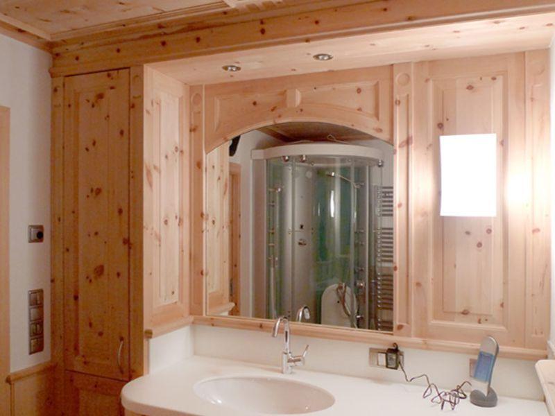 Arredo bagno in legno - Arredo bagno montagna ...
